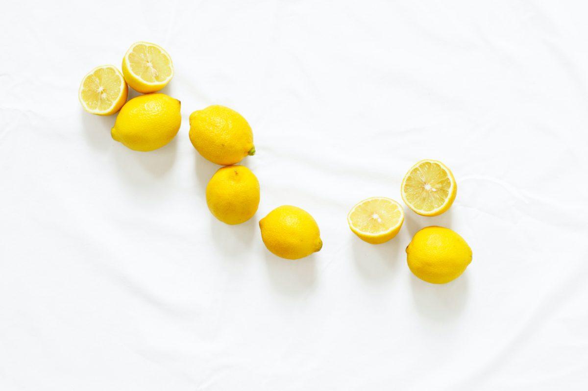 citron jaune zeste