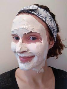 masque apaisant visage